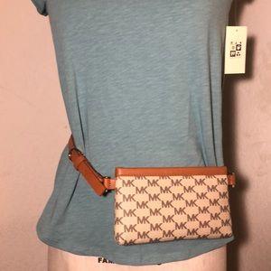 Michael Kors waist belt pouch bag